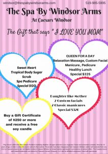 May Mother's Day Specials